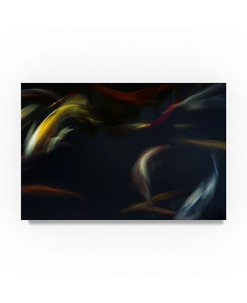 "Trademark Global Moises Levy 'Japanese Colors ' Canvas Art - 32"" x 22"" x 2"""