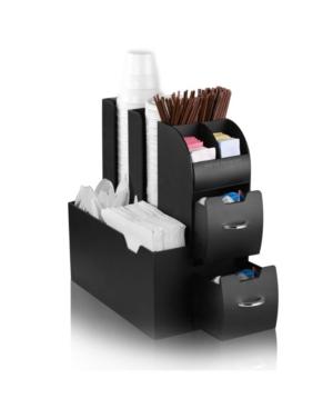 Mind Reader Coffee Caddy Condiment Storage Organizer