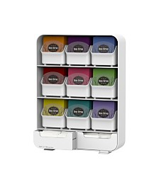 Mind Reader 9 Removable Drawers Tea Bag holder and Condiment Organizer