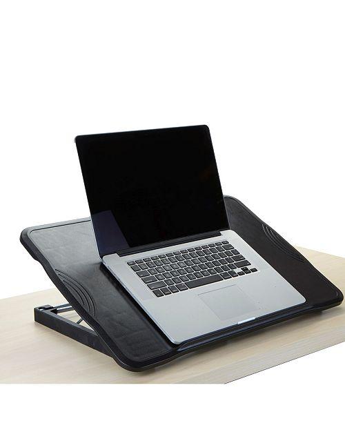 Mind Reader Adjustable, Foldable Laptop Table