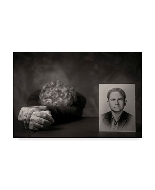"Trademark Global Vito Guarino 'Absence' Canvas Art - 47"" x 2"" x 30"""