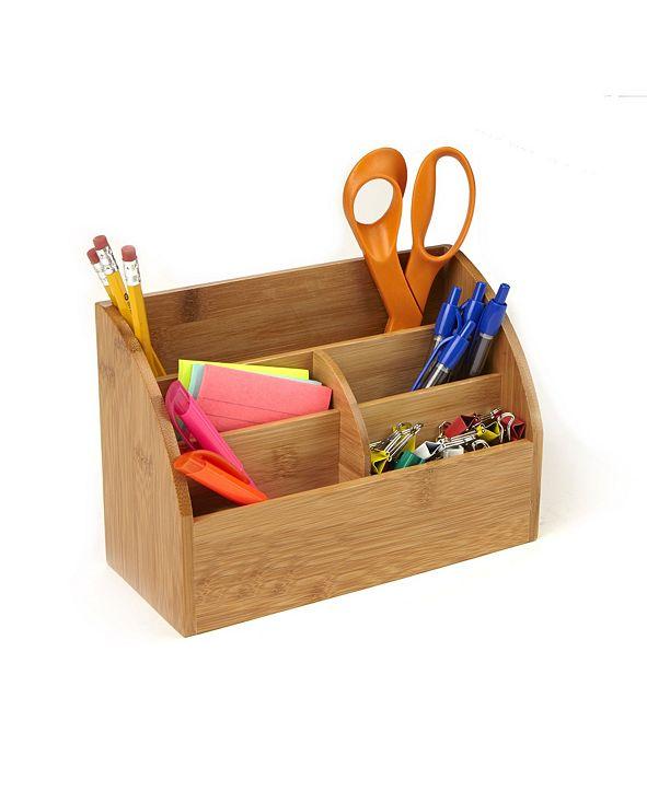 Mind Reader 5 Compartment Desk Organizer