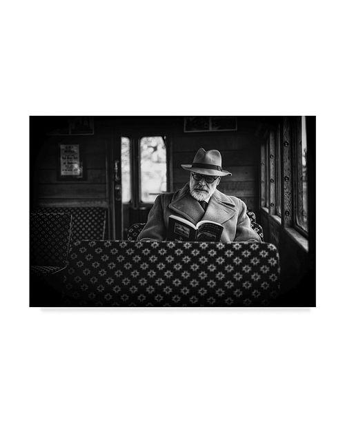 "Trademark Global Richard Bland 'Page 43' Canvas Art - 32"" x 2"" x 22"""