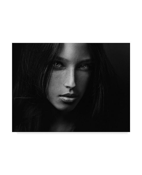 "Trademark Global Zachar Rise 'Tanya In Dark' Canvas Art - 32"" x 2"" x 24"""
