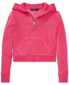 Polo Ralph Lauren Big Girls Terry Hoodie