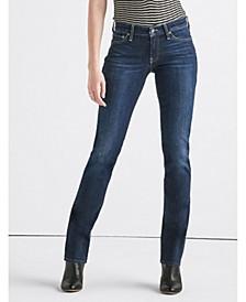 Women's Sweet Mid Rise Straight Jean