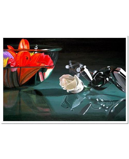 "Trademark Global Mixing Color by Stevens Signed Giclee Art COA - 14"" x 19"" x 0.1"""