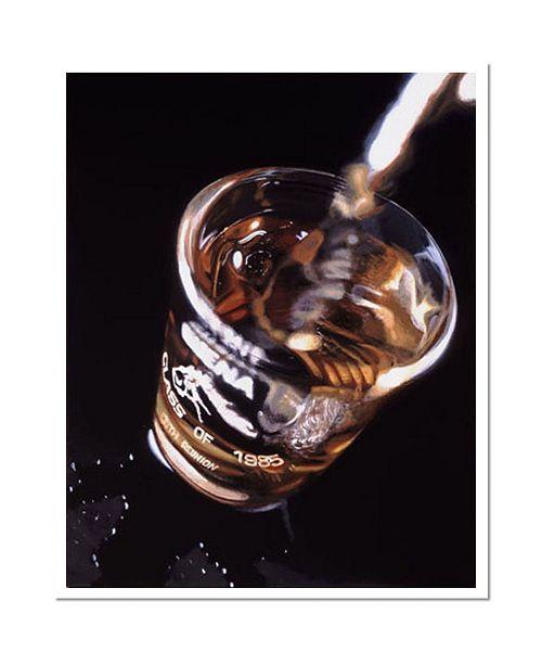 "Trademark Global The Shot by Roderick Stevens Signed Giclee Art COA - 14"" x 19"" x 0.1"""