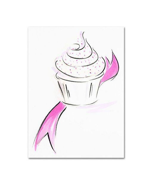 "Trademark Global Jennifer Lilya 'Cupcake 1' Canvas Art - 35"" x 47"" x 2"""