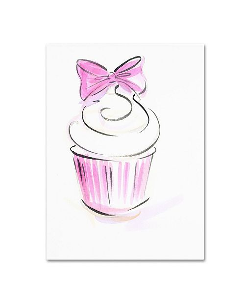 "Trademark Global Jennifer Lilya 'Cupcake 3' Canvas Art - 35"" x 47"" x 2"""
