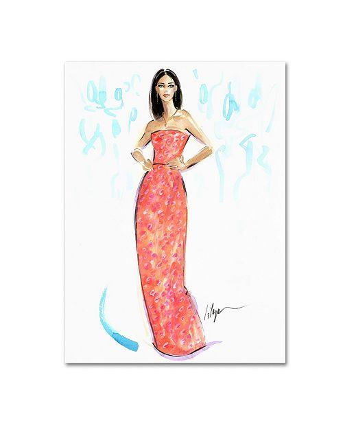 "Trademark Global Jennifer Lilya 'Tropican Sunset' Canvas Art - 18"" x 24"" x 2"""