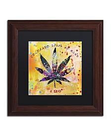 "Potman 'Colorado State of Mind' Matted Framed Art - 11"" x 11"" x 0.5"""
