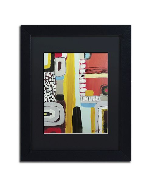 "Trademark Global Sylvie Demers 'Chemins' Matted Framed Art - 16"" x 20"" x 0.5"""