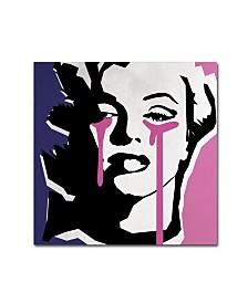 "Mark Ashkenazi 'Marilyn Monroe III' Canvas Art - 14"" x 14"" x 2"""