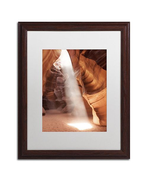 "Trademark Global Moises Levy 'Illumination I' Matted Framed Art - 20"" x 16"" x 0.5"""
