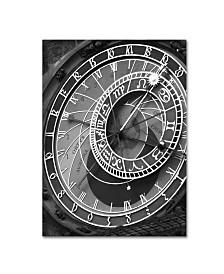 """Moises Levy 'Astronomic Watch Prague 11' Canvas Art - 32"""" x 24"""" x 2"""""""