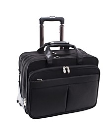 Roosevelt Patented Detachable Wheeled Laptop Briefcase