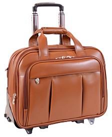 Mcklein Damen Patented Detachable -Wheeled Laptop Briefcase
