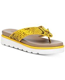 Donald Pliner Leaane Flat Sandals