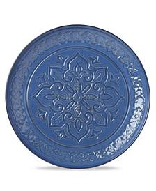 Global Tapestry Round Server Blue