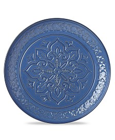Lenox Global Tapestry Round Server Blue