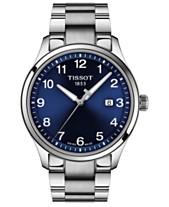 5fa7d2f16285 Tissot Men s Swiss Gent XL Stainless Steel Bracelet Watch 42mm