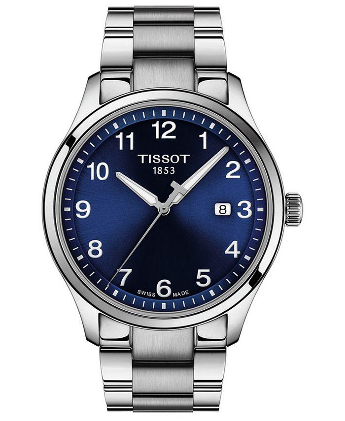 Tissot - Men's Swiss Gent XL Stainless Steel Bracelet Watch 42mm