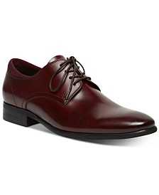 Kenneth Cole Men's Levin Leather Lace-Up Oxfords