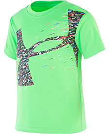 Under Armour Little Boys Quick-Dry Moisture-Wicking Logo T-Shirt