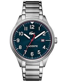 Men's Continental Stainless Steel Bracelet Watch 43mm