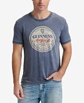 dd919c31 Lucky Brand Men's Guinness Circle Graphic T-Shirt