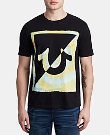 Men's Tie Dye Logo T-Shirt