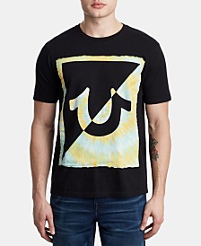 True Religion Men's Tie Dye Logo T-Shirt