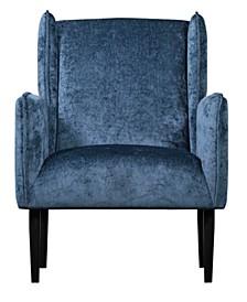 Elle Décor Baptiste Wingback Accent Chair