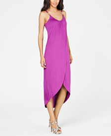 Thalia Sodi Embellished High-Low Dress, Created for Macy's