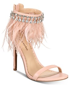 ZIGIny Brynlea Feathered Dress Sandals