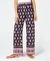 af4a6472ec3fb9 Be Bop Juniors' Printed Soft Pants