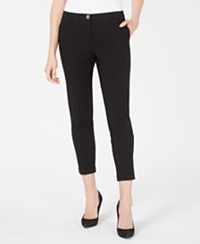 Nine West Cuffed Straight-Leg Pants