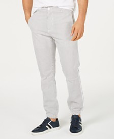 Sean John Men's Striped Jogger Pants