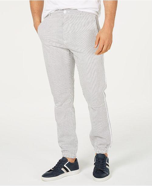 Sean John Men's Striped Jogger Pants