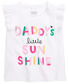 First Impressions Baby Girls Little Sunshine Graphic Top, Created for Macy's
