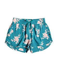 Tropical Forest Beach Shorts