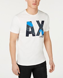 A|X Armani Exchange Men's Logo Graphic T-Shirt