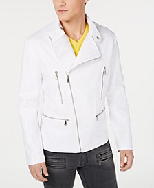 INC Men's Linen Biker Jacket, Created for Macy's