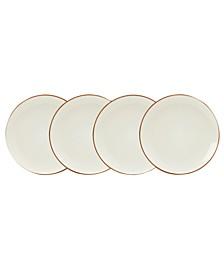 Dinnerware, Set of 4 Colorwave Mini Plates, Graphite