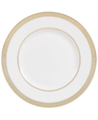 Dinnerware, Lace Gold Accent Plate