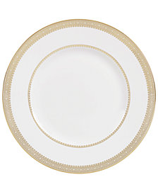 Vera Wang Wedgwood Dinnerware, Lace Gold Accent Plate