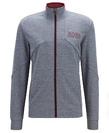 BOSS Men's Skaz Regular-Fit Zip-Through Sweatshirt