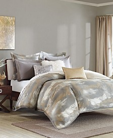 Madison Park Signature Graphix King 9 Piece Jacquard Comforter Set