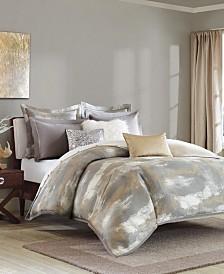 Madison Park Signature Graphix King 9 Piece Jacquard Comforter Set